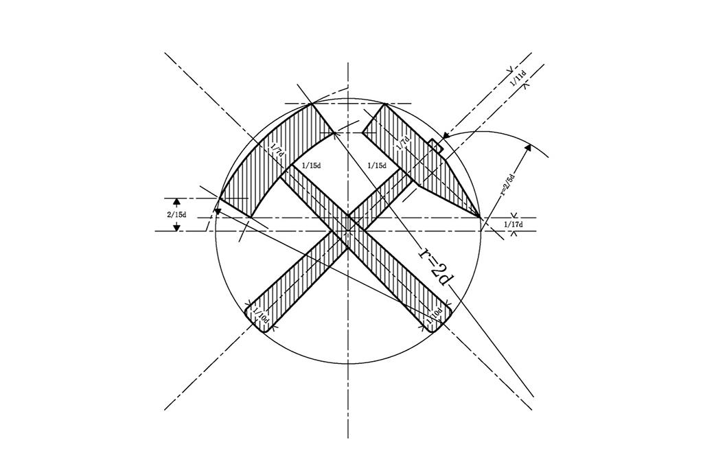 Bergbausymbol, Montantechnik, arccon ingenieurbüro, Gelsenkirchen, Bergbau
